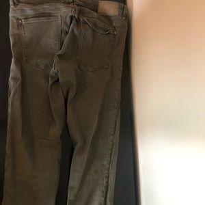 Zara Jeans - Green Zara Jeans